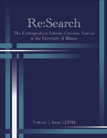ReSearch volume 1 number 1 cover
