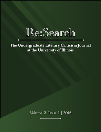 ReSearch volume 2 number 1 cover
